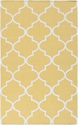 Artistic Weavers AWHD1019-1014 Hand Woven Wool Rug, 10 by 14-Feet, Gold