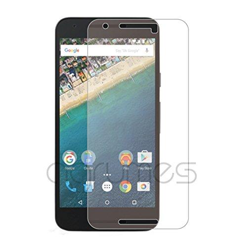 agrumes Google Nexus 5X [日本製ガラス] [真空ぬるぬるコーティング] ガラスフィルム 0.3mm (Nexus 5X)