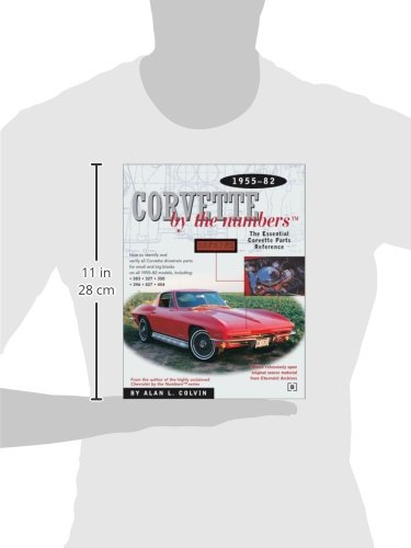 Corvette by the Numbers: The Essential Corvette Parts Reference 1955-82 (Chevrolet)