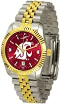 "Washington State Cougars NCAA AnoChrome ""Executive"" Mens Watch"