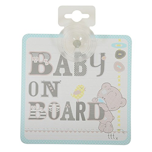 Baby On Board Sign Suction Cup Sign Baby On Board Sign CUTE BABY BOY