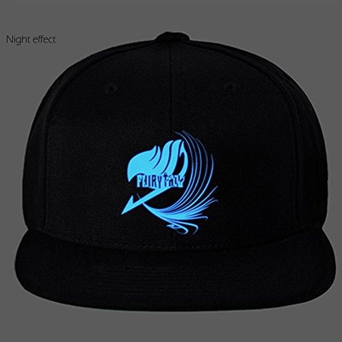 CosEnter Anime Fairy Tail Guild Logo Noctilucent Cap Sun Hat Cosplay B