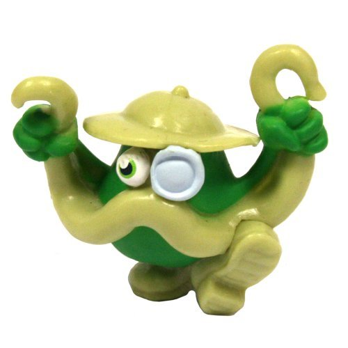 Moshi Monsters Series 3 - Colonel Catcher #13 Rare Moshling Figure