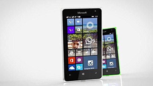 Microsoft Lumia 532 UNLOCKED RM-1032 Dual Sim Windows Phone 2G GSM 850/900/1800/1900MHZ, WCDMA 850/900/1900/2100MHZ (White)