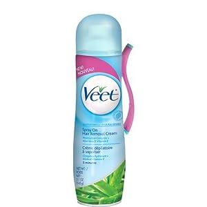 Veet Spray On Hair Removal Cream - Sensitive Formula: 5.1 OZ