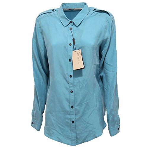 77330 camicia BURBERRY BRIT SETA camicie donna shirt women [L]