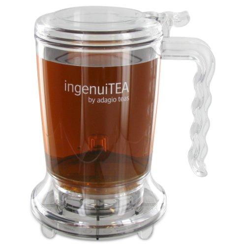 Adagio Teas 16 oz. ingenuiTEA Bottom-Dispensing Teapot (Perfect Tea Maker compare prices)