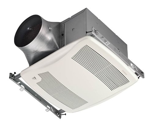 Nutone Zn110H 110 Cfm 0.3 Sone Ceiling Mounted Energy Star Rated And Hvi Certifi, White