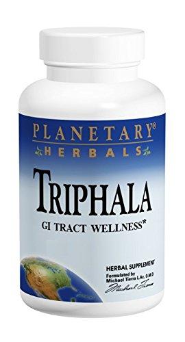 Planetary Formulas Triphala GI Tract Wellness, 1000mg, 180 Tablets, Pack of 2
