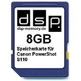 DSP Memory Z-4051557402690 8GB Speicherkarte für Canon PowerShot S110