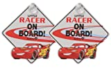 Disney Little Racer On Board Sign, Cars II - 2 Pack
