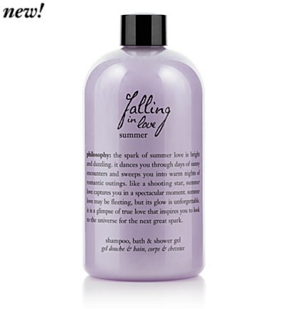 falling in love summer 16.0 oz bath & shower gel for Women
