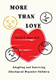 img - for More than Love: Adopting and Surviving Attachment Disorder Children book / textbook / text book