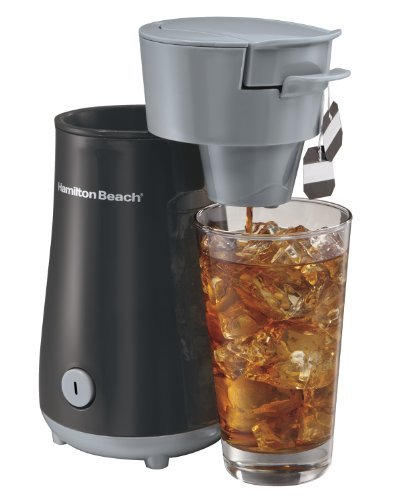 Hamilton Beach 40916 Iced Tea Brewer, Black Packagequantity: 1 Home & Kitchen front-477824