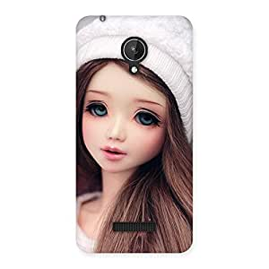 Ajay Enterprises Innocent Angel Doll Multicolors Back Case Cover for Micromax Canvas Spark Q380