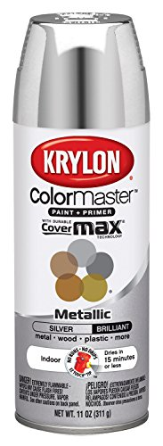 Krylon 51511 Silver Interior and Exterior Decorator Paint - 11 oz. Aerosol (Interior Spray Paint compare prices)