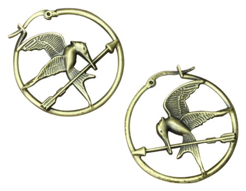 The Hunger Games Movie Earrings Hoop