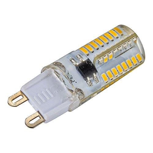 Mudder 6pcs 5w g9 3014smd 64 led lampade a risparmio for Risparmio energetico led