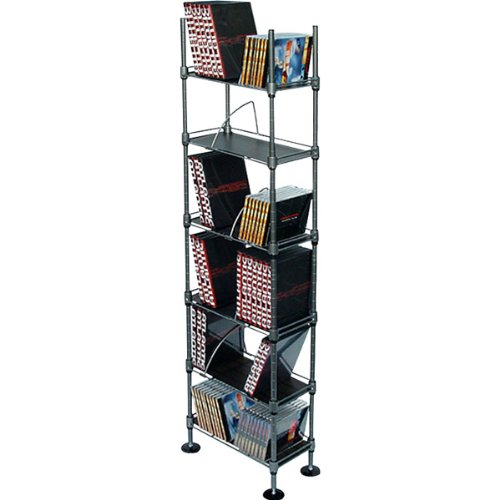 Image of NEW Translucence 6-Tier Multimedia Storage Rack (Stands Mounts & Furniture) (B006ZEYWY0)