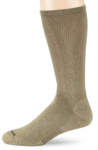 Carhartt Men's Copper Ion Cotton Cushioned Boot Socks, Navy, Large
