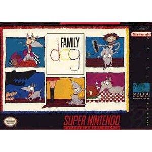 Family Dog - Nintendo Super Nes front-806573