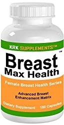 Breast Max Health 180 Capsules Natural Breast Enlargement Enlarger KRK SUPPLEMENTS