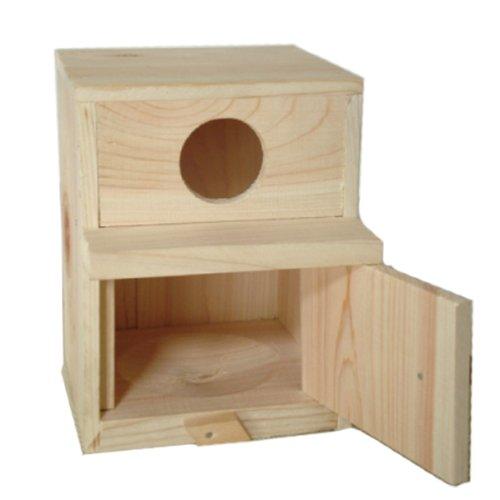 木製 巣箱 セキセイインコ コザクラインコ ボタンインコ