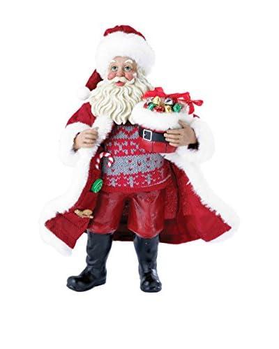 Kurt Adler 10 Candy Santa Figure