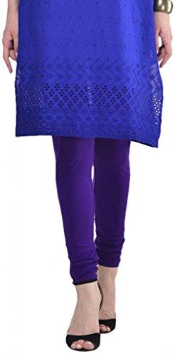 Sohniye Women's Cotton Leggings [Purple]