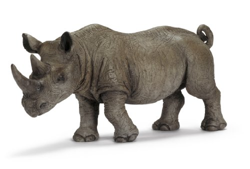 Picture of Schleich African Black Rhino, Male Figure (B001O2QW7I) (Schleich Action Figures)