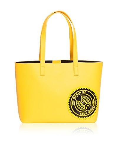 Love Moschino Schultertasche gelb