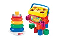 Fisher-Price Baby's First Blocks and…