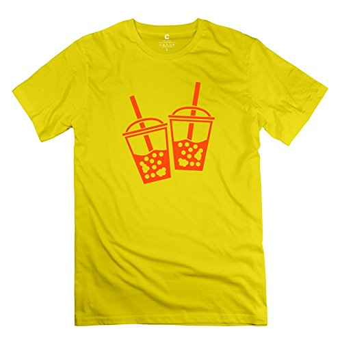 Ywt Bubble Men T-Shirt Brand New Cool Yellow