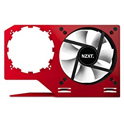 NZXT Technologies Kraken G10 Liquid Cooled GPU Mounting Kit, Red KRG10-R1
