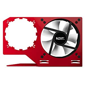 NZXT Technologies Kraken G10 Liquid Cooled GPU Mounting Kit, Red KRG10-R1