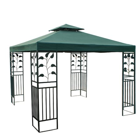 8x8 ft Garden Canopy Gazebo Replacement Top Green
