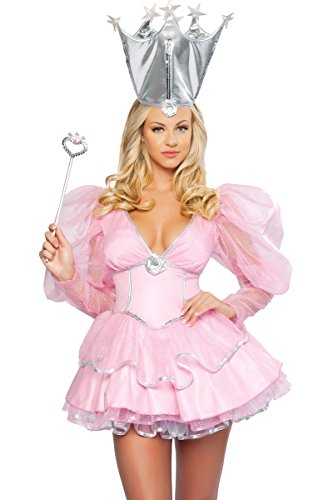 3WISHES 'Good Witch Costume' Sexy Fairy Tale Witch Halloween Costumes for Women