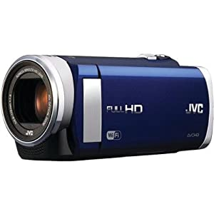 JVC 1.5-Megapixel 1080P High-Definition Everio Digital Video Camera - Blue GZEX210AUS