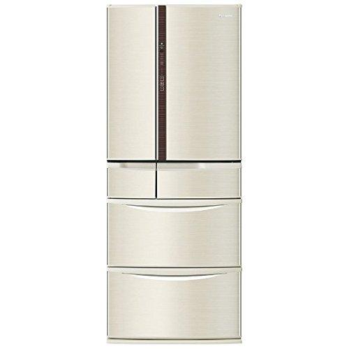 パナソニック 474L 6ドア冷蔵庫(シャンパン)Panasonic エコナビ NR-F471V-N