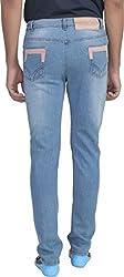 Ragged Men's Slim Fit Jeans (RASSABL055_Blue_30)