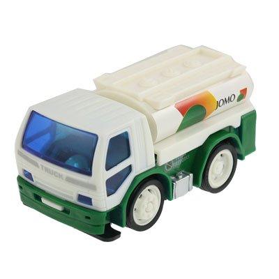 Children Plastic Oil Tanker Gasoline Truck Car Toy White Green