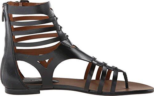 Enzo Angiolini Women's Makalya Gladiator Sandal,Black,7.5 M US