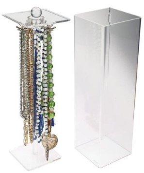StorIt Necklace And Bracelet Storage Case - Jewellery Organiser Box Holder