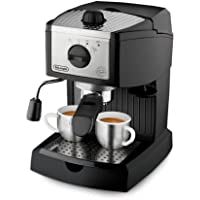 Delonghi EC155 Pump Espresso Coffee Maker in Black