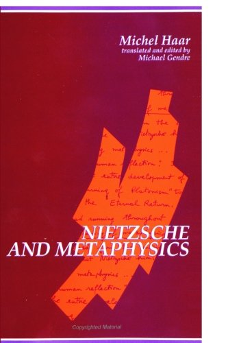 Nietzsche and Metaphysics (S U N Y Series in Contemporary Continental Philosophy) PDF
