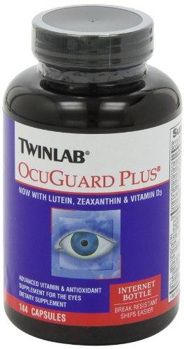 凑单品:TWINLAB 天来 Ocuguard Plus Capsules 加强型叶黄素 护眼胶囊 144粒装(FloraGlo专利原料,超高吸收率)美国亚马逊