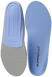Superfeet Blue Premium Insoles,Blue,C: 6.5 - 8 US Womens/5.5 - 7 US Mens