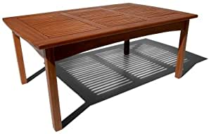Strathwood Gibranta All-Weather Hardwood Coffee Table (Discontinued by Manufacturer)