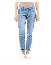 Yepme Women's Blue Poly Cotton Jeans - YPWJEAN5154_34