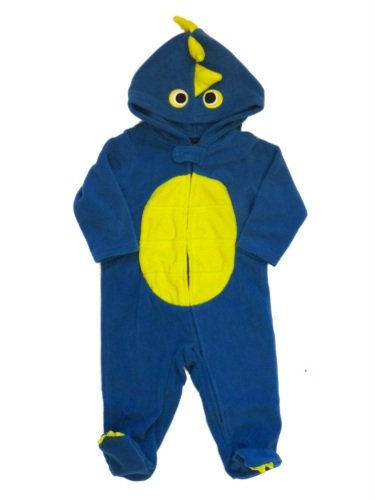 Holiday Editions Blue Infant Dinosaur Monster Sleeper Baby Costume Pajama